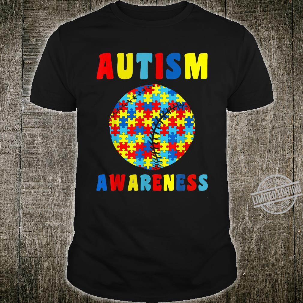 Autism Baseball Players Shirt Autism Awareness Month Shirt
