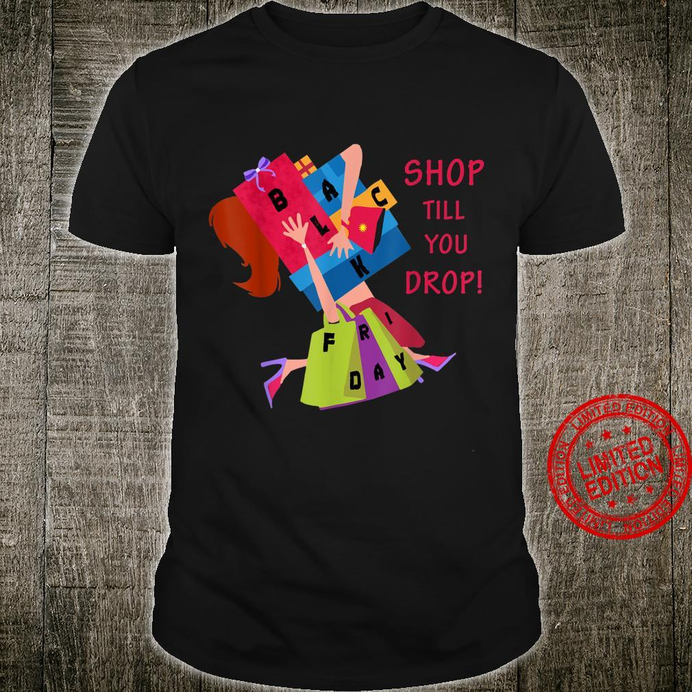 Black Friday Shopping Christmas Crew Team Shirt
