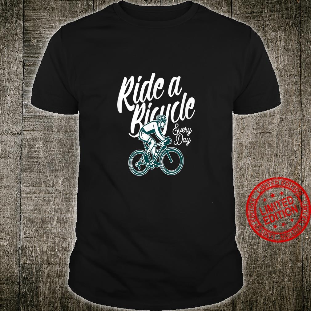 Fahrrad fahren Radsport Rennrad MTB Radler Herz Shirt