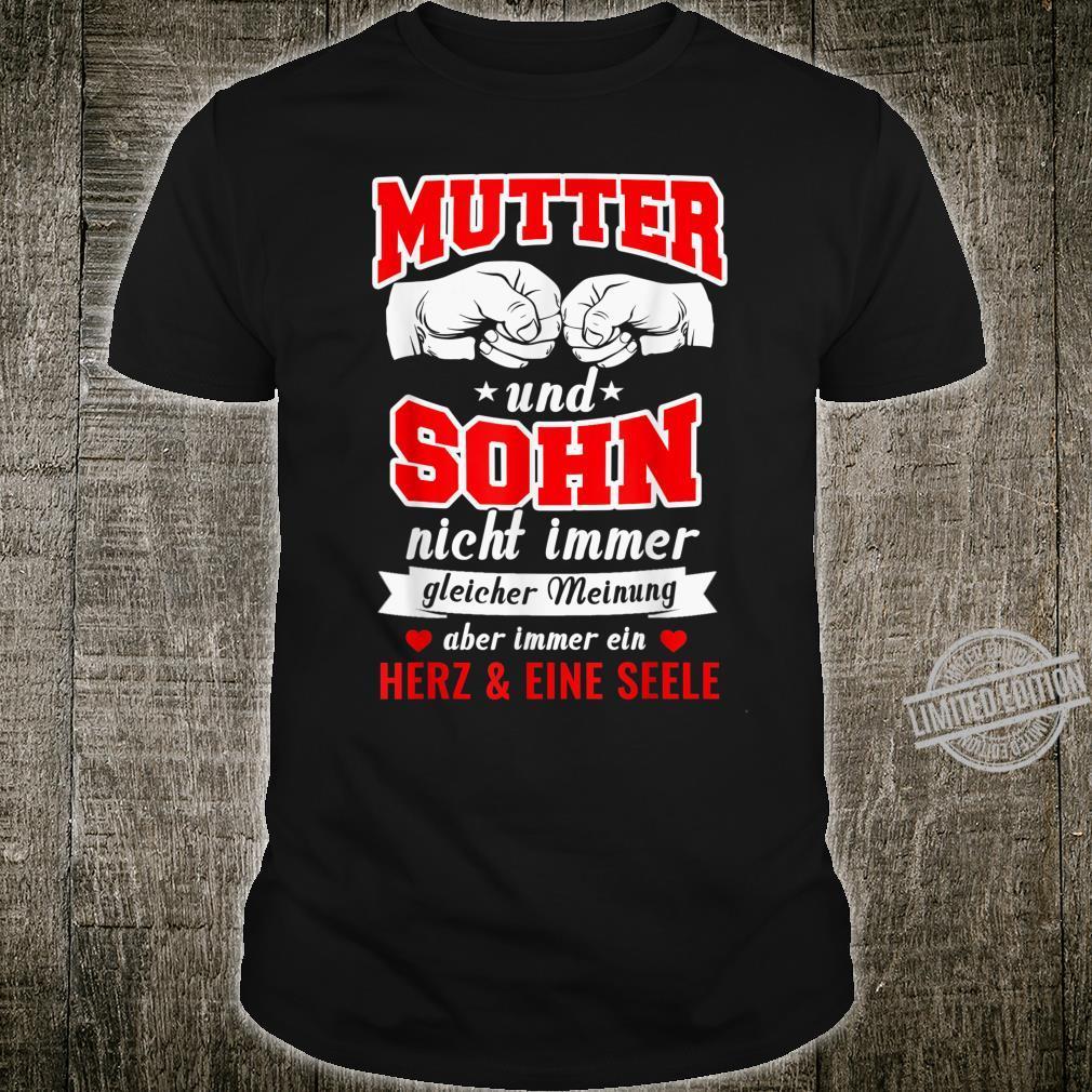 Familie Mama Mutter Sohn Geschenkidee Shirt