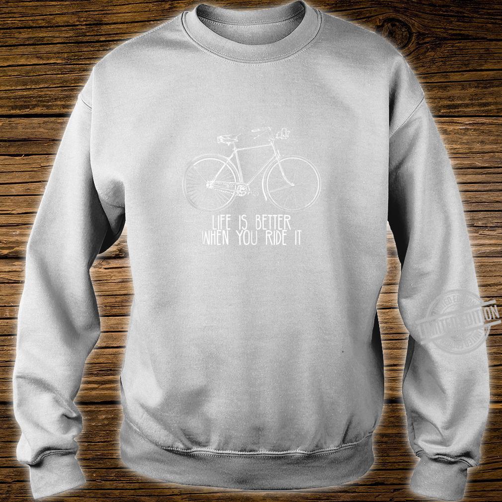 Funny Bike Bicycle Biking Cycle Retro VIntage Burn Fat Shirt sweater