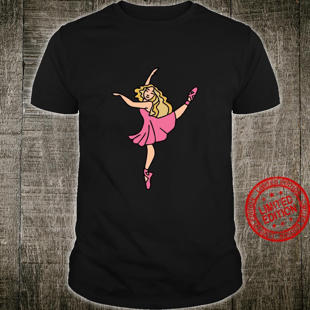 I Love Ballet ballerina art Shirt