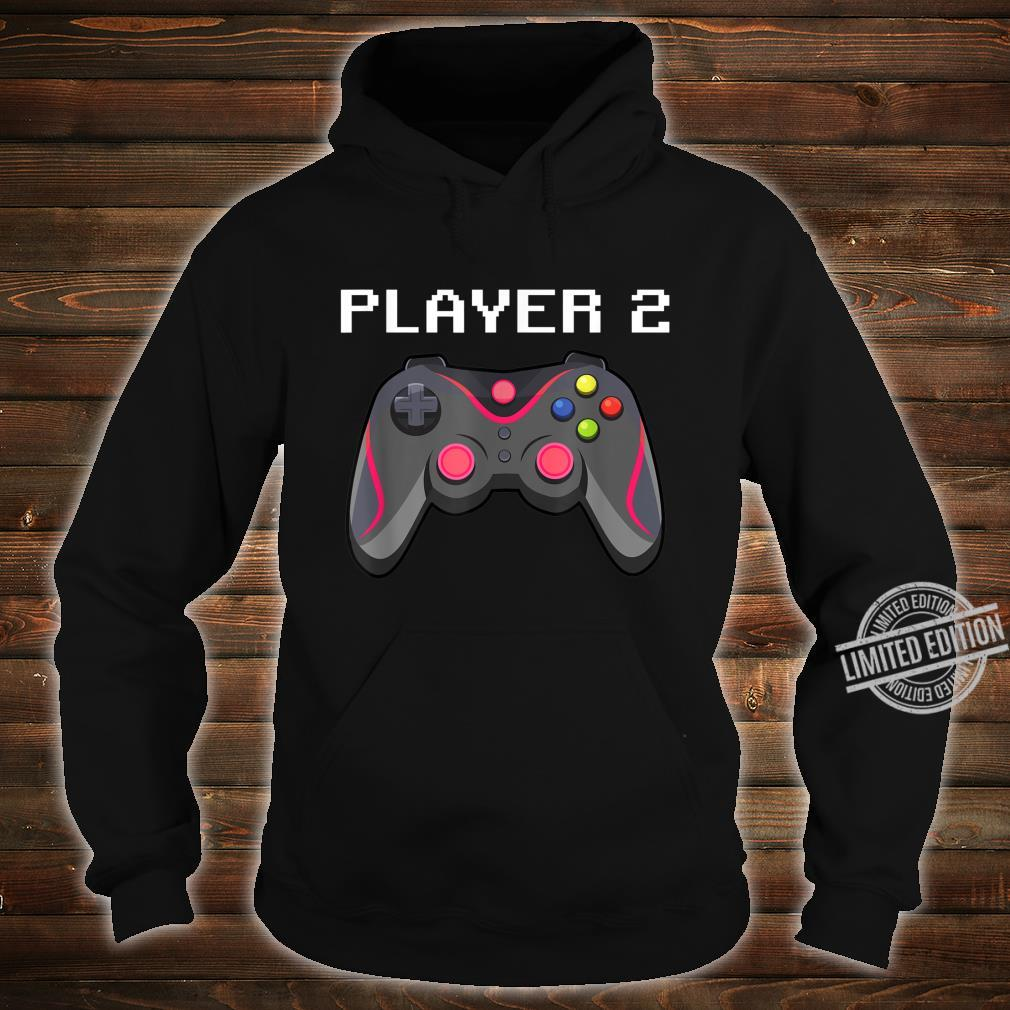 Matching Gamer Family Gaming Team Player 2 for Mom Shirt hoodie