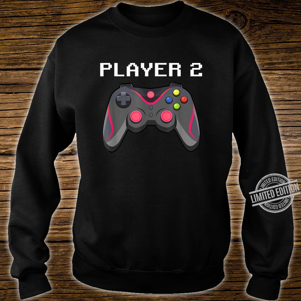 Matching Gamer Family Gaming Team Player 2 for Mom Shirt sweater