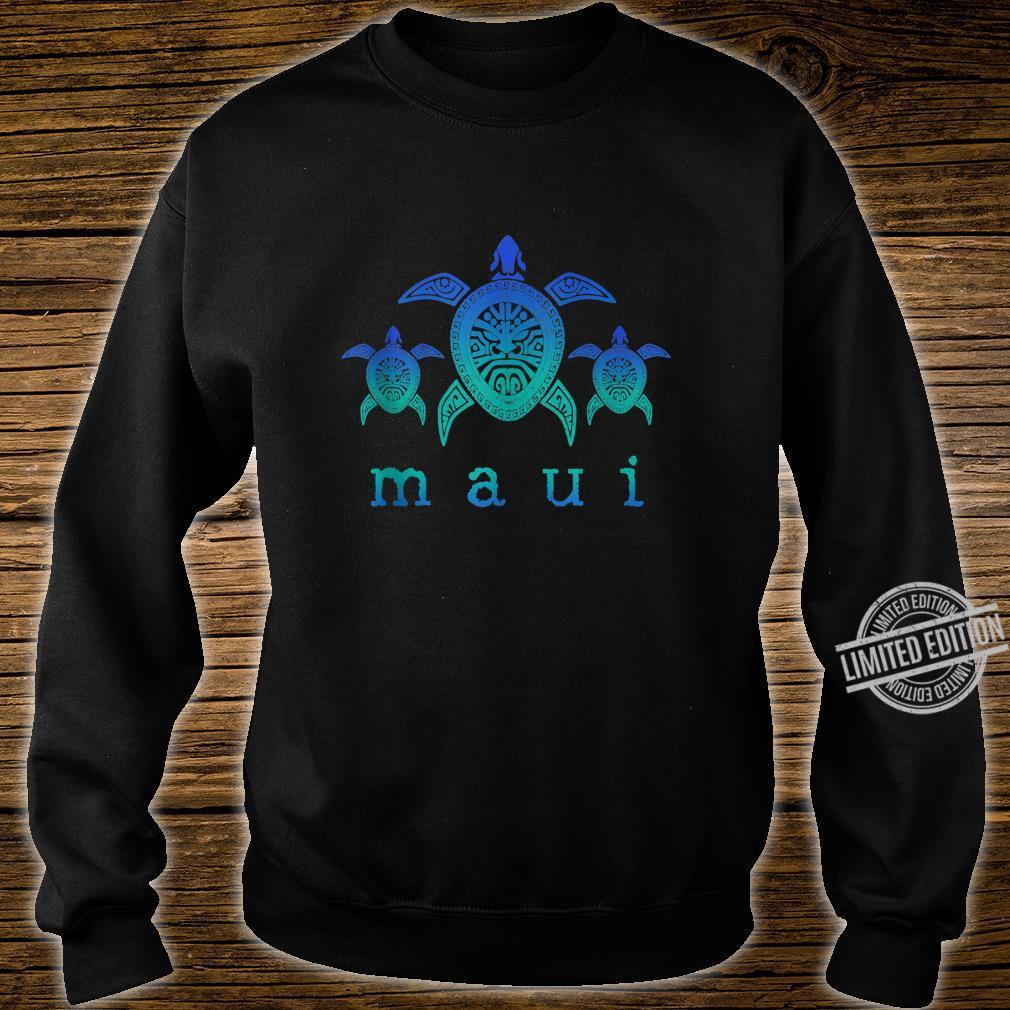 Maui Hawaii Sea Turtles Hawaiian Scuba Diving Souvenir Shirt sweater