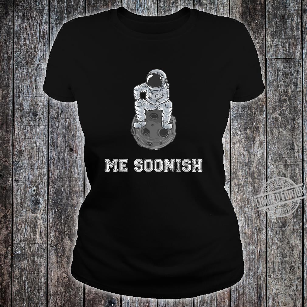 Mee soonish lustiger Astronaut Shirt ladies tee