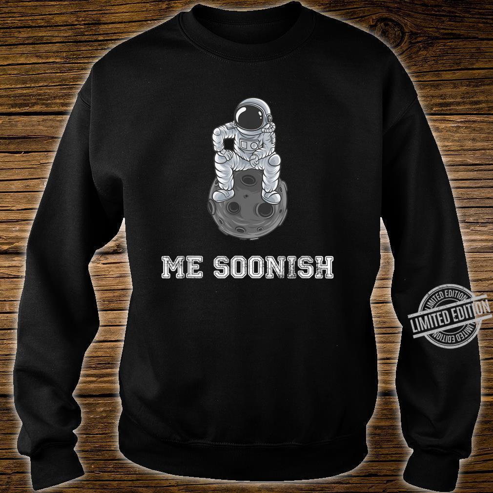 Mee soonish lustiger Astronaut Shirt sweater