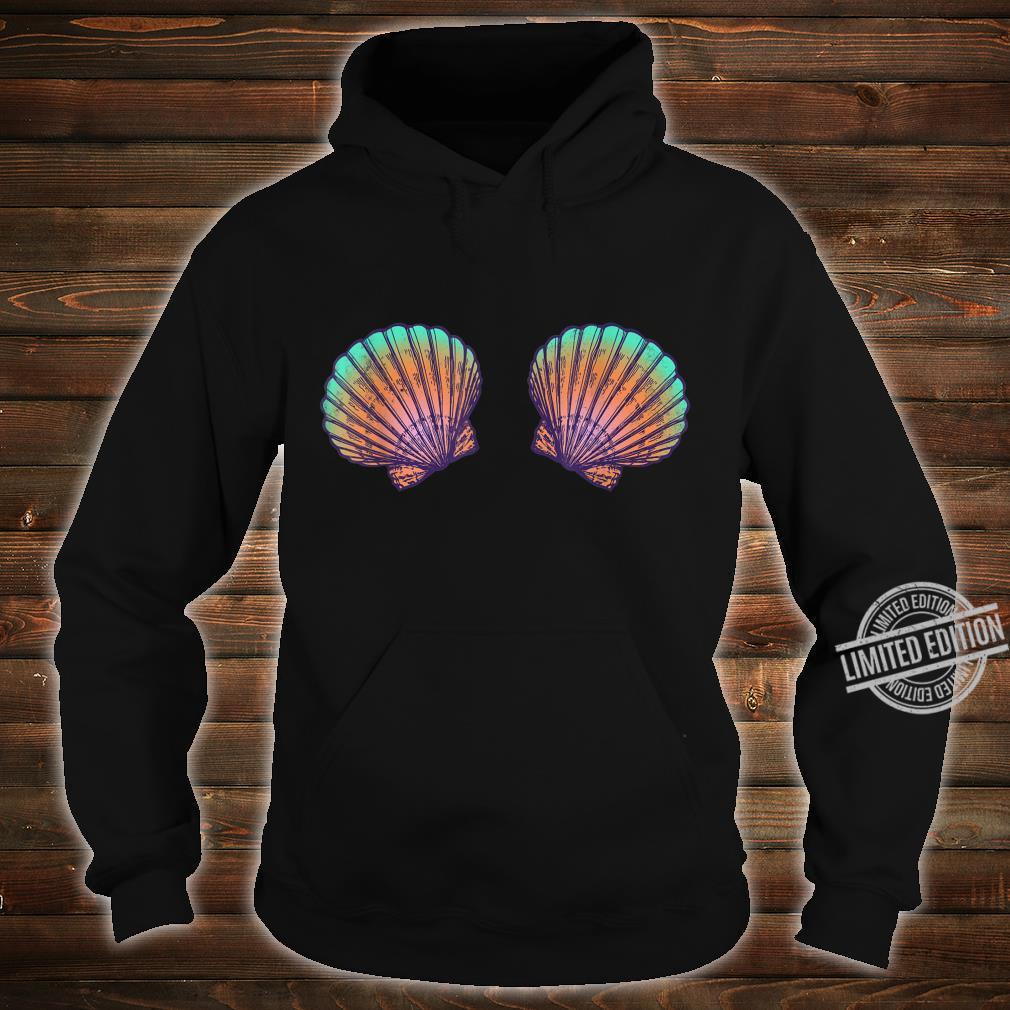 Meerjungfrau Muscheln Verkleidung I Karneval oder Halloween Shirt hoodie