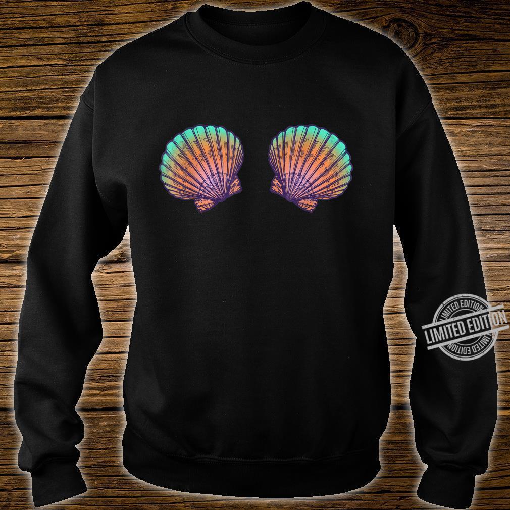 Meerjungfrau Muscheln Verkleidung I Karneval oder Halloween Shirt sweater