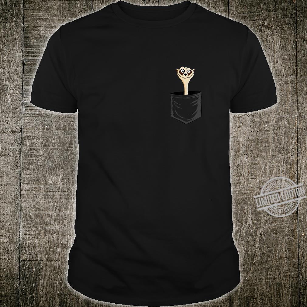 MeerkatLovers FanArt Meerkat In Pocket Shirt
