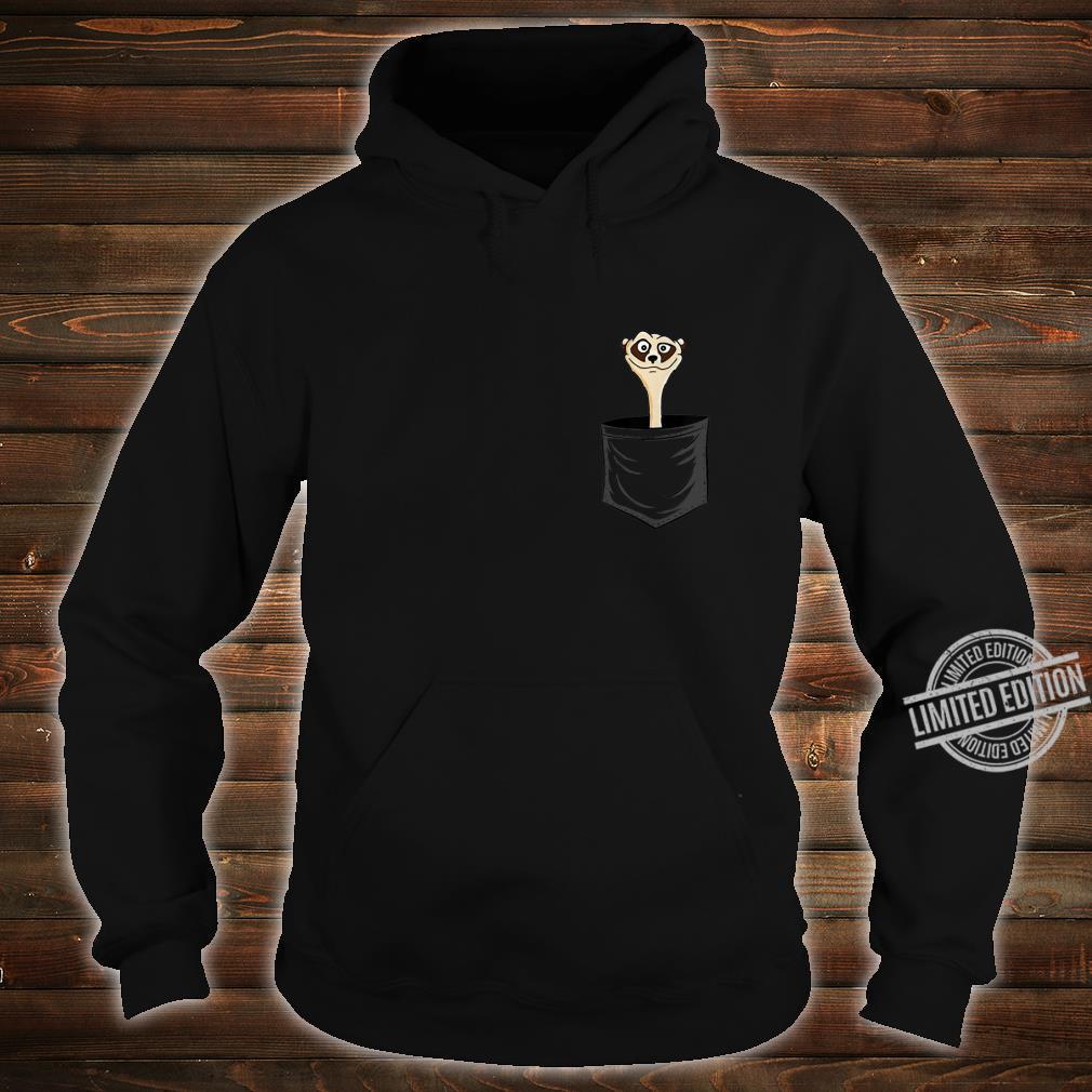MeerkatLovers FanArt Meerkat In Pocket Shirt hoodie