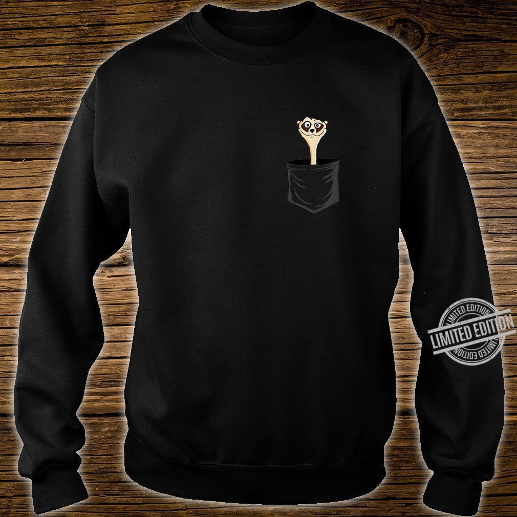 MeerkatLovers FanArt Meerkat In Pocket Shirt sweater