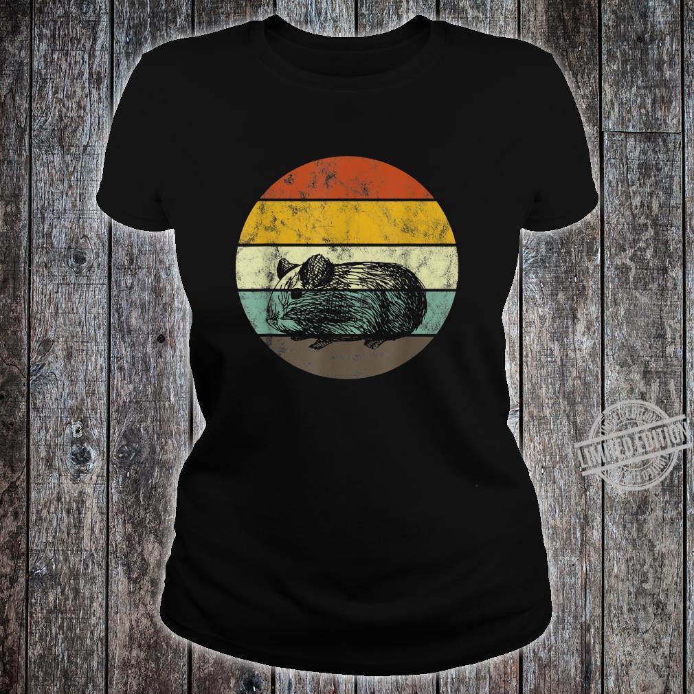 Meerschweinchen Lustig Haustier Zubehoer Hausmeerschweinchen Shirt ladies tee