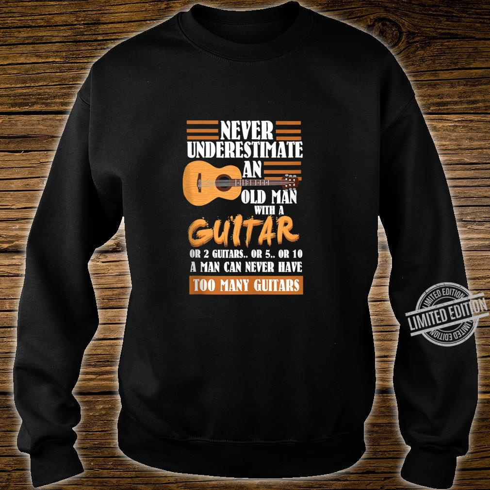 Mens Acoustic Guitar Player Shirt sweater