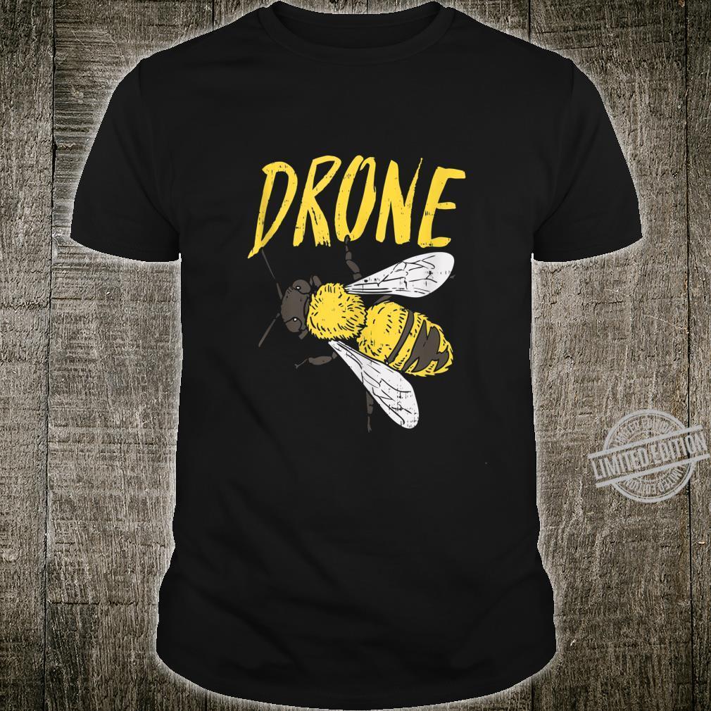 Mens Drone Bee Beekeeping Apiarist Beekeeper Dad Shirt