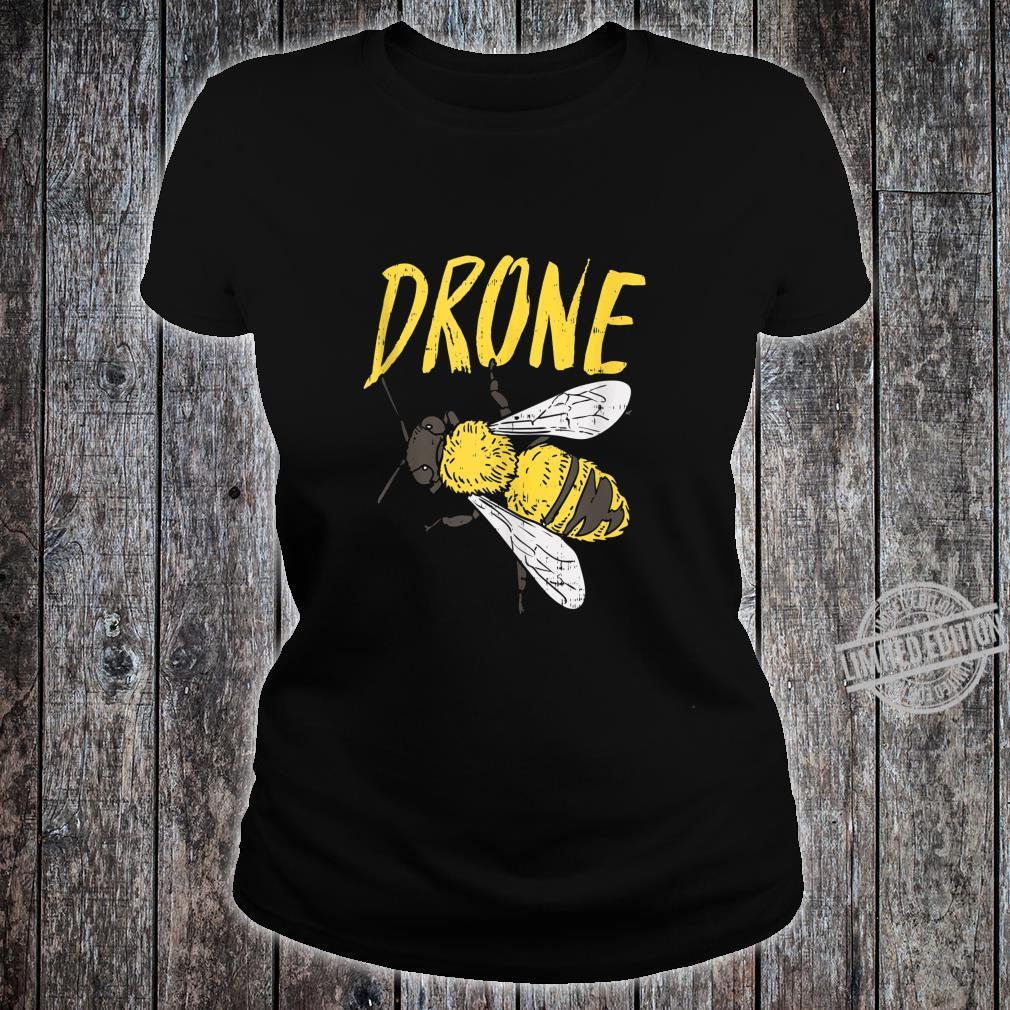 Mens Drone Bee Beekeeping Apiarist Beekeeper Dad Shirt ladies tee