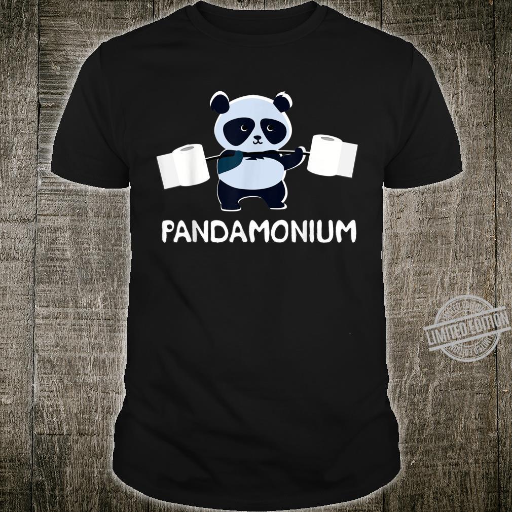 Punny Exercise Fitness Clothes Pun Pandamonium 2020 Gym Shirt