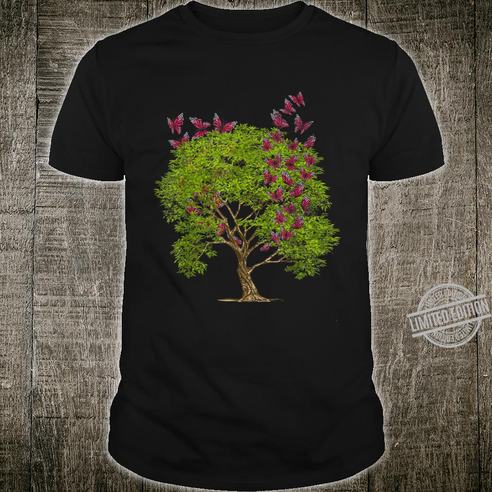 Tree Animal Love Collectors Insect Explorer Butterfly Shirt